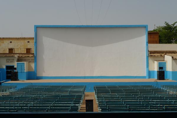 Fespaco 2009 : l'écran © Isabelle Gourmelon