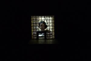 Fespaco 2009 : la caissière © Isabelle Gourmelon